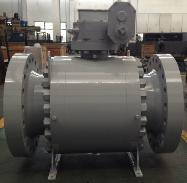3 Piece Trunnion ball Valve, Carbon Steel
