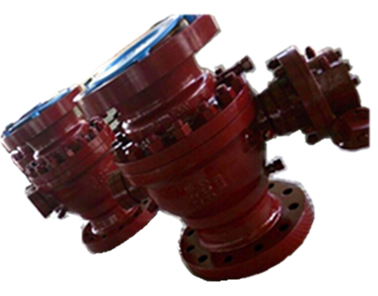 8 Inch Ball Valve, Flanged, Two Piece