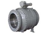 A216 WCB Trunnion Ball Valve, Fire Safe