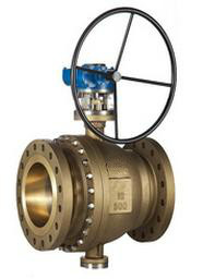 Trunion Ball Valve, Aluminum Bronze, B148 C95800