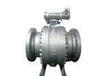 ANSI 150 Ball Valve, Flanged, Split Body, LCC