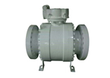 ANSI 600 Ball Valve, 3 Piece, Gear, 24 Inch