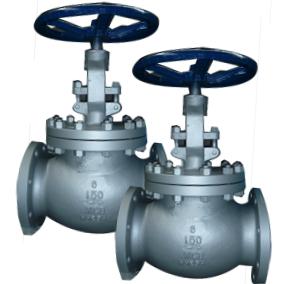 ANSI Globe valve, Cast steel, RF