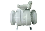 ASTM A216 Ball Valve, Full Bore, RF, 18 Inch