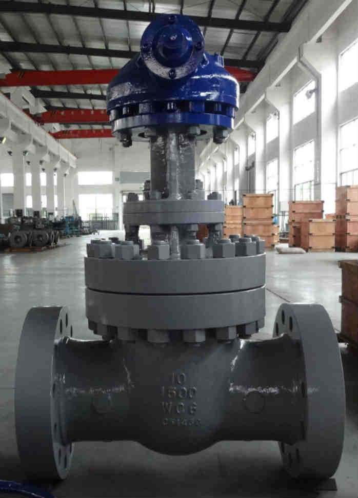 ASTM A217 WC6 Gate Valves