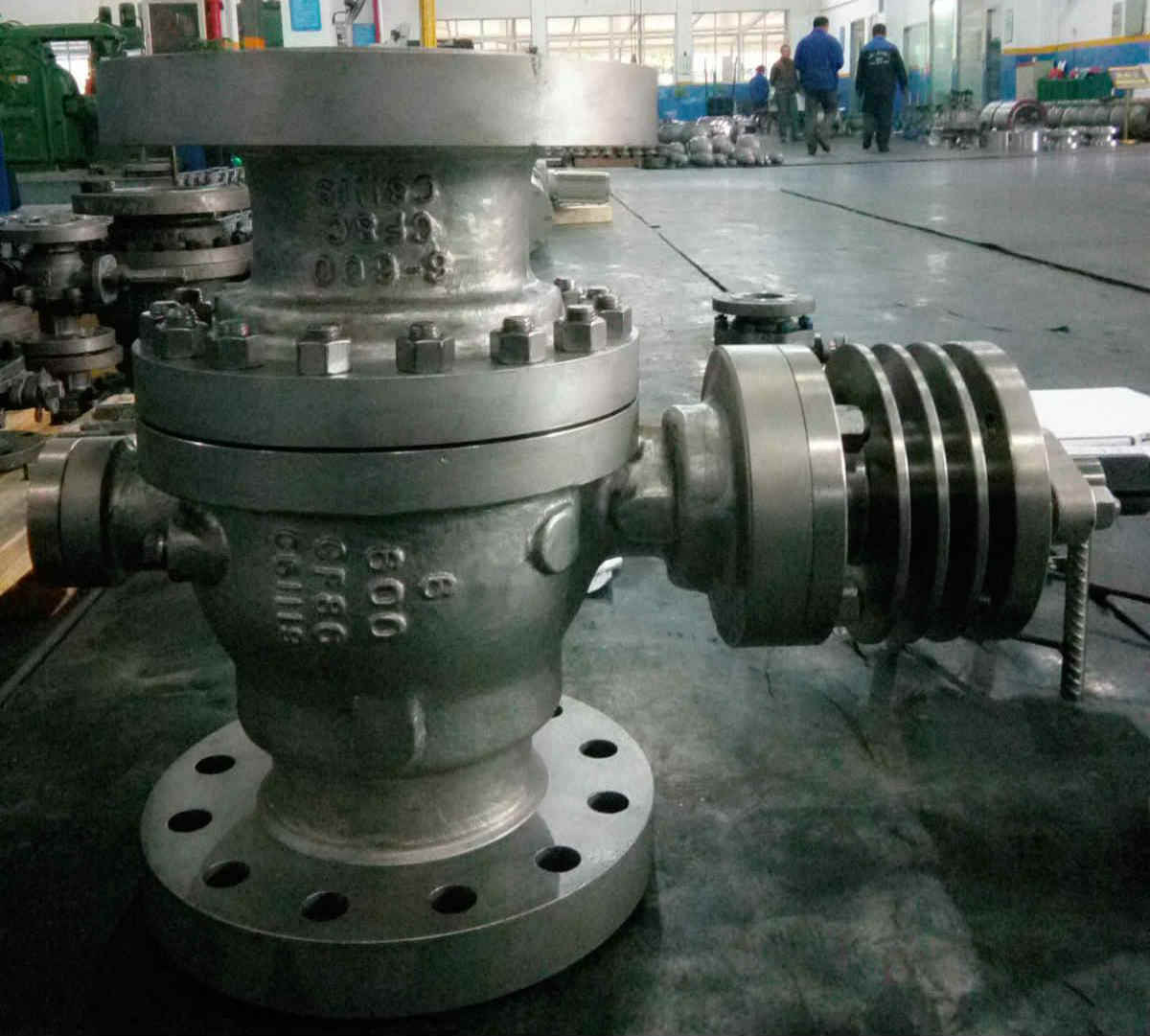 CF8C Ball Valve, High Temperature