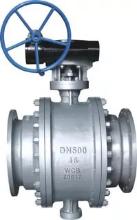 DIN Trunnion Ball Valve