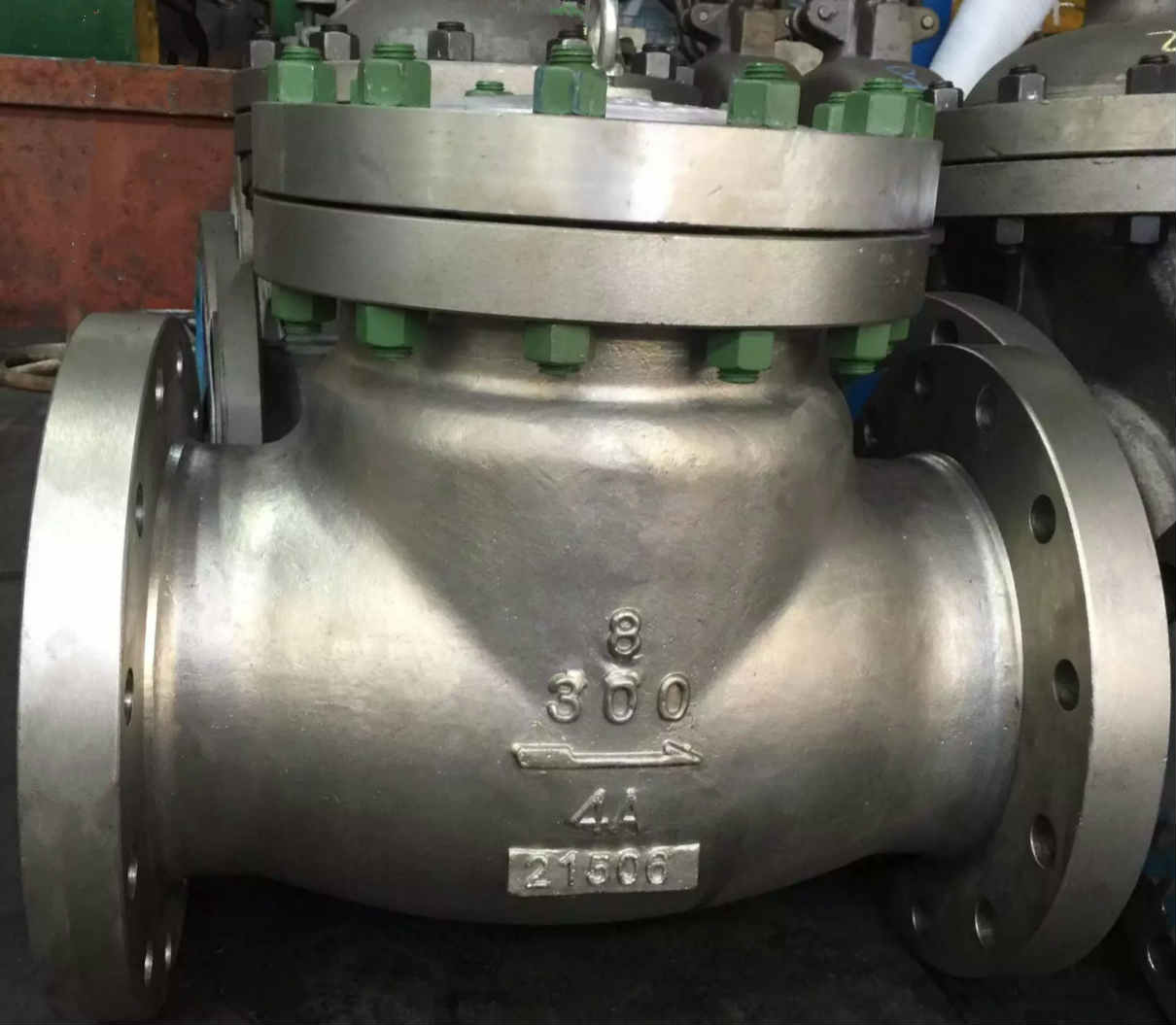 Duplex Stainless Steel Check Valve