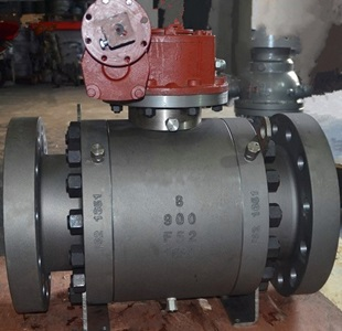 Duplex Steel Ball Valve, A182 F52