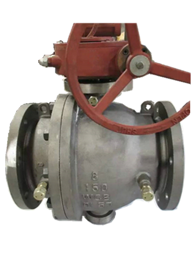 Flanged Ball Valve, WCB, Gear Operated