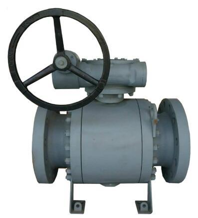 Forged Steel Trunnion Ball Valve, 150LB