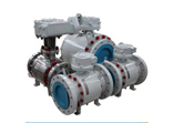 Forged Steel Trunnion Mounted Ball Valve, 3PC