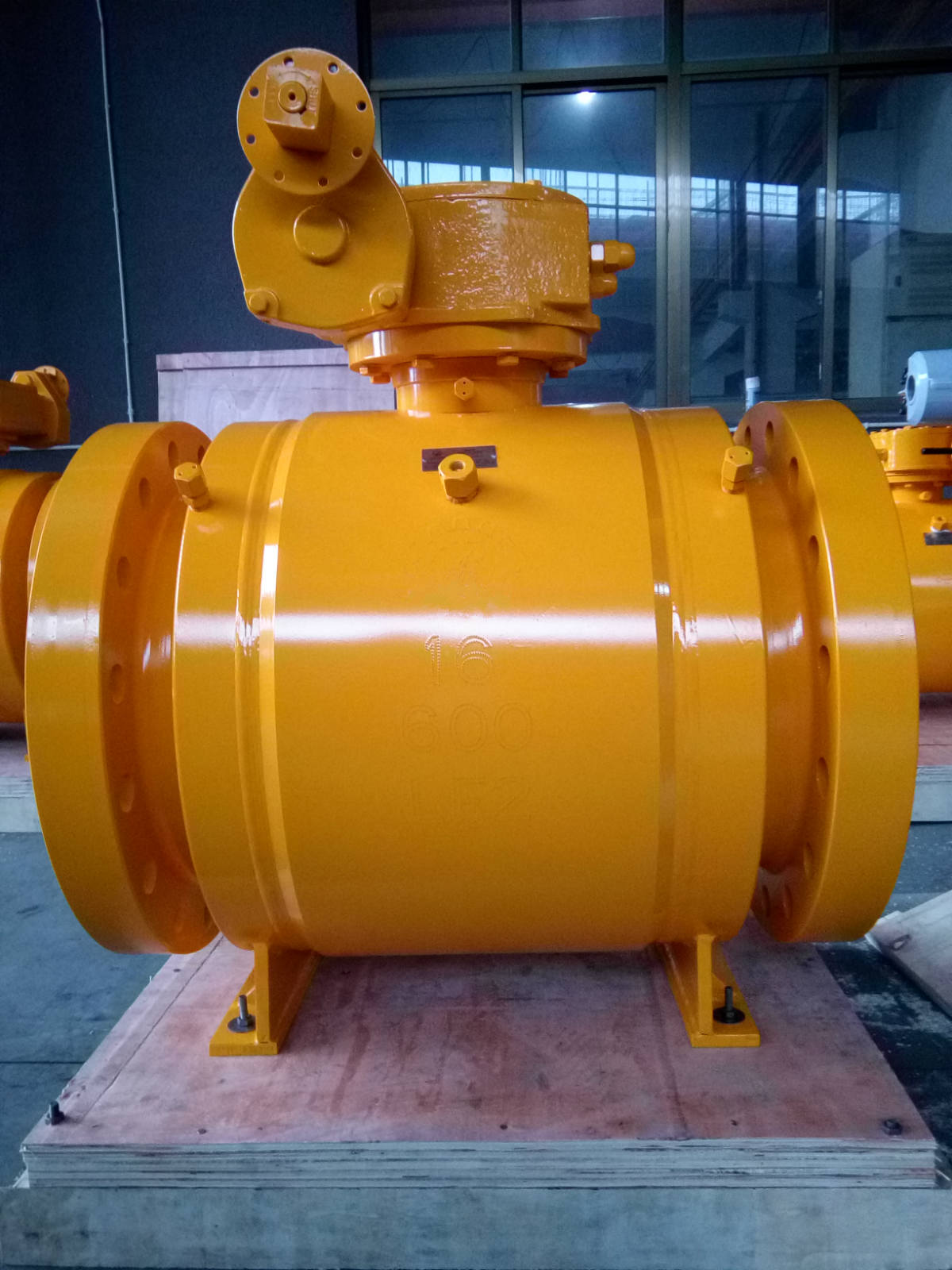 High Pressure Fully Welded Ball Valve, Flanged Ends
