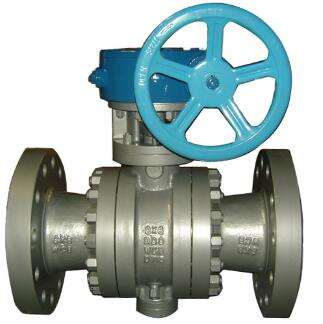 LCC Ball Valve, ASTM A352, Reduced Bore, 8 Inch