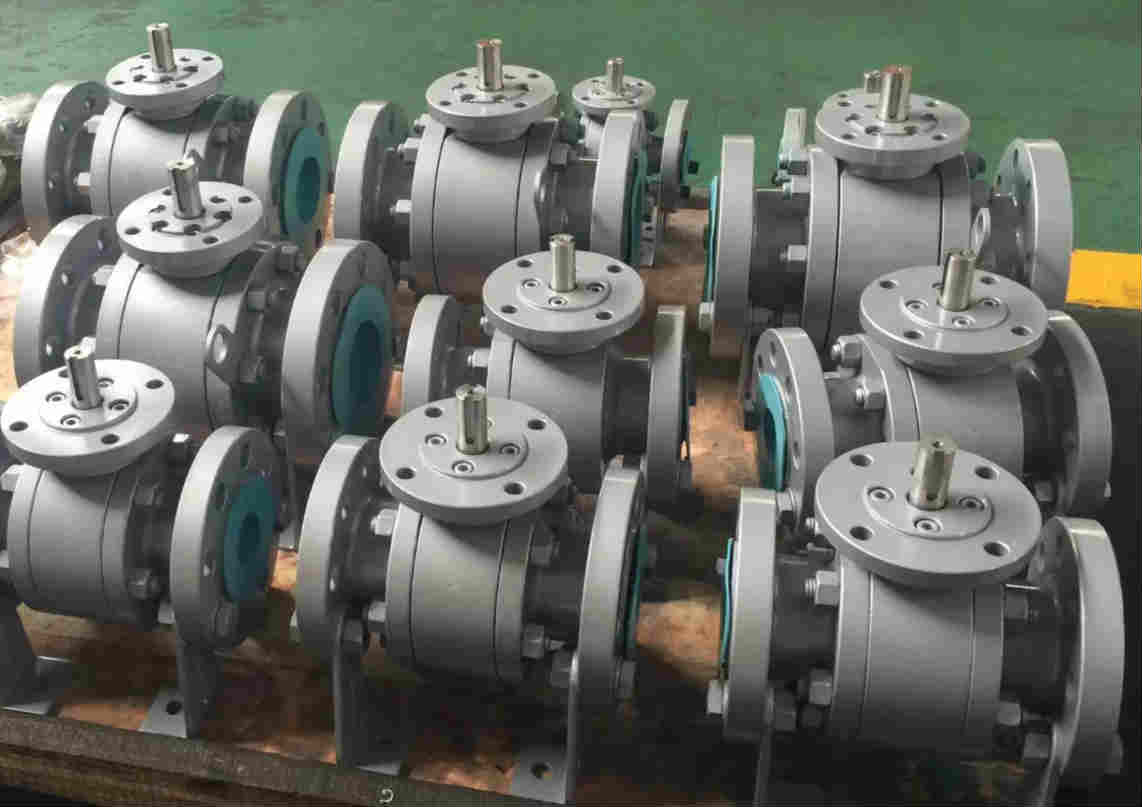 Metal To Metal Trunnion Mounted Ball Valve