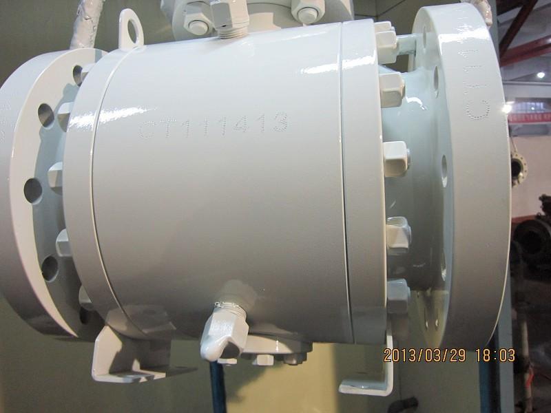 Piggable Ball Valve, Pipeline, Lockable