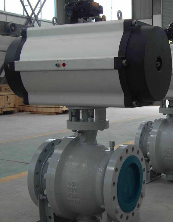 Pipeline Ball Valve, Class 300, 10 Inch