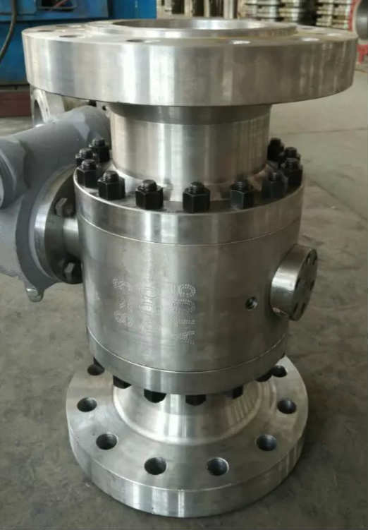 Regular Bore Ball Valve, ASTM A105, API 6D