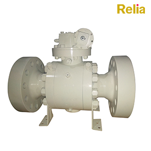Side Entry Trunnion Mounted Ball Valve