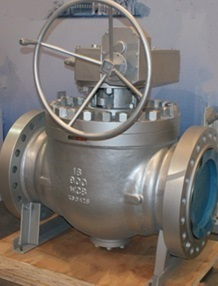 Top Entry Ball Valve, Trunnion Mounted, Full Bore