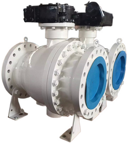 Trunnion Ball Valve, 16 Inch, Flanged, API, WCB