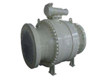 Trunnion Ball Valve, 24 Inch, Carbon Steel, RF