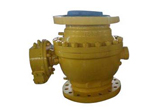 Carbon Steel Ball Valve, Stainless Steel Trim, Flanged