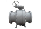 Trunnion Ball Valve, Carbon Steel, 3 Piece, Flanged