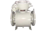 Trunnion Ball Valve, Class 150, Forged Steel