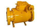 Trunnion Ball Valve, Flanged Ends, 6 Inch