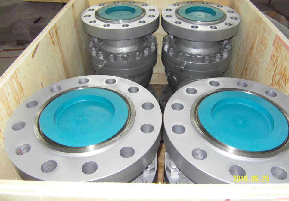 Trunnion Ball Valve, Flanged Ends, 900 LB