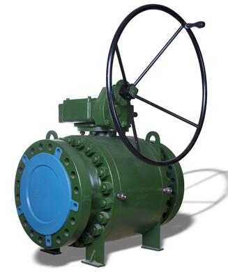 Trunnion Ball Valve, Flanged, Forged Steel, API 6D