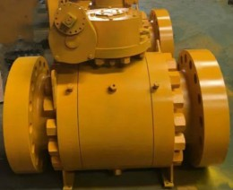 Trunnion Ball Valve, Low Temperature Carbon Steel