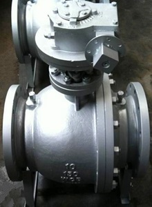 Trunnion Ball Valve, WCB, 10 Inch