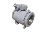 Trunnion Mounted Ball Valve, A350 LF2, SS Trim
