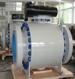 Trunnion Mounted Ball Valves API 6D