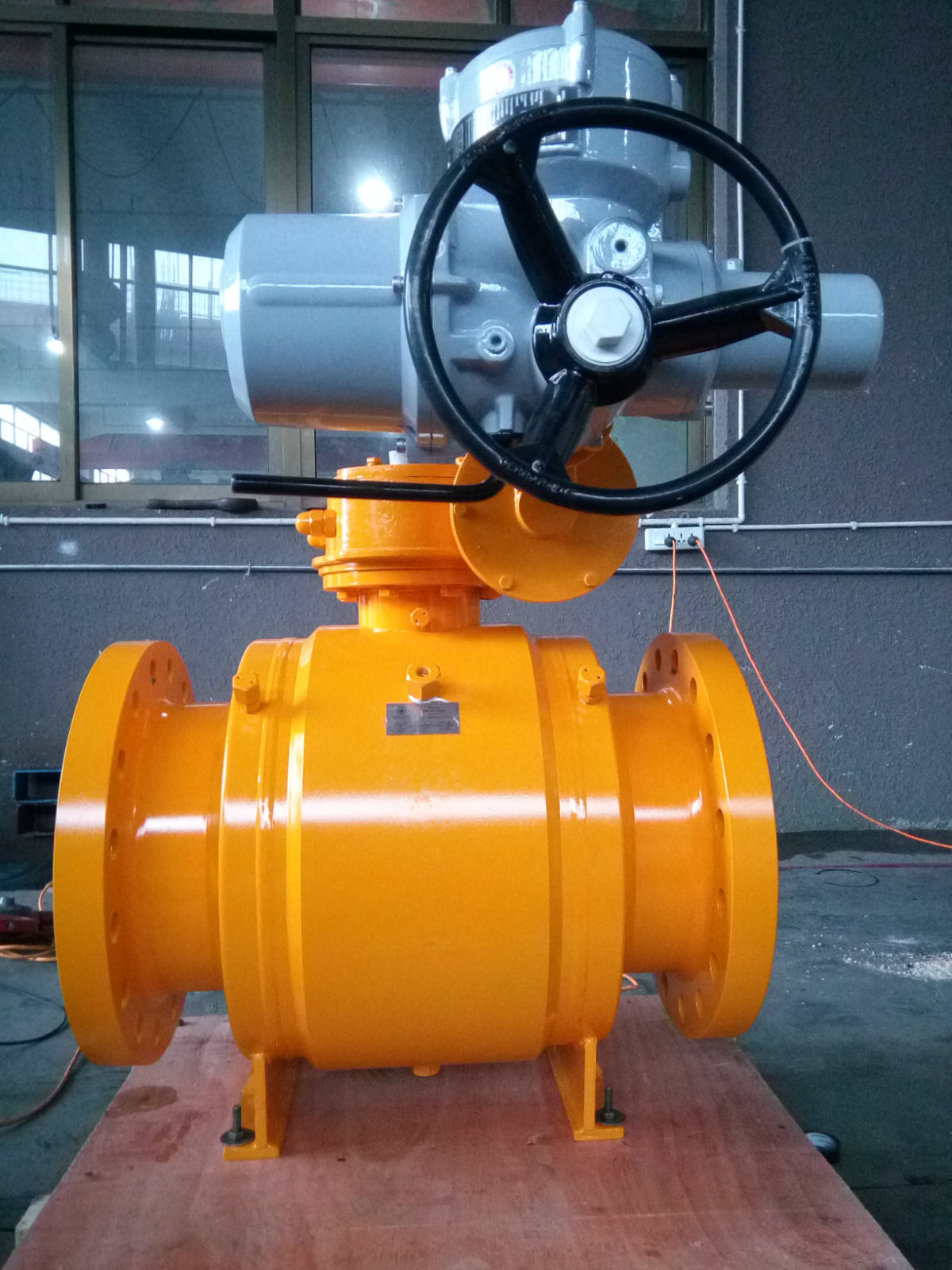 Welded Body API 6D Ball Valve, Forged Steel
